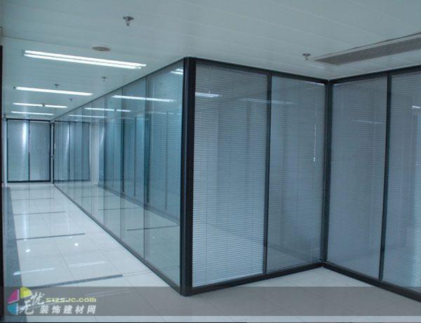北京建材网 北京销售 北京建材 北京建材市场 供应单层玻璃隔断,室内隔断,隔间墙,间隔墙